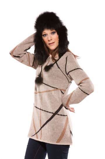 Mini Dress - Damen Alpaka Pulli von APU KUNTUR