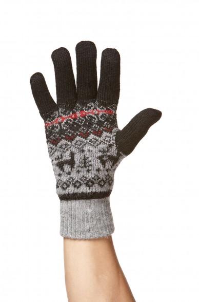 Alpaka Fingerhandschuhe ANDEN VIENTOS aus 100% Alpaka Superfine