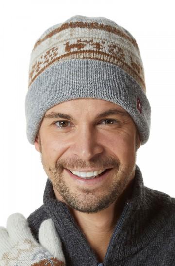 Alpaka Mütze NATURA aus 100% Alpaka Superfine