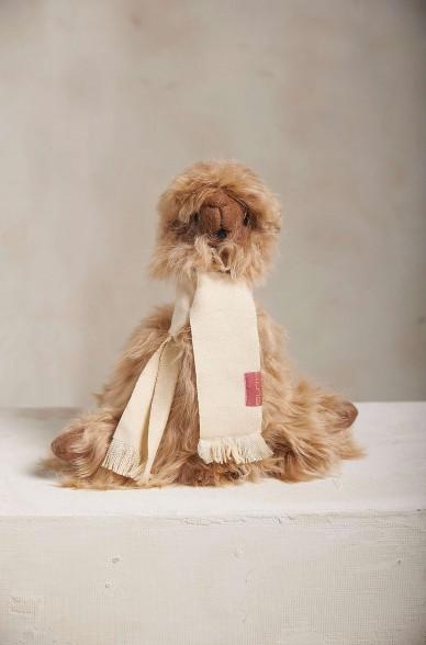 Suri Fellalpaka LAYKA Kuschel Tier mit Baby Alpaca Webschal Deko-Artikel KUNA