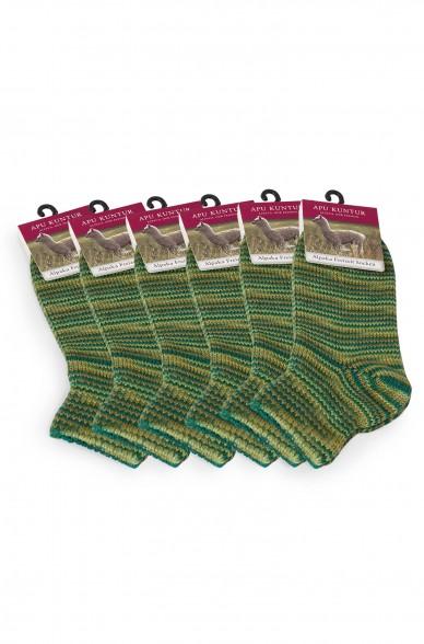 Alpaka Socken FREIZEIT 6er Pack aus 52% Alpaka & 18% Wolle
