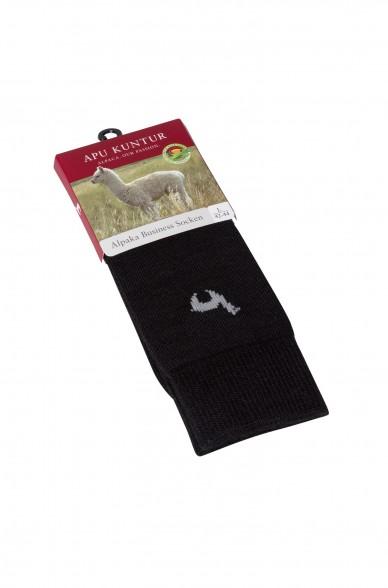 Alpaka Socken BUSINESS aus 52% Alpaka & 18% Wolle