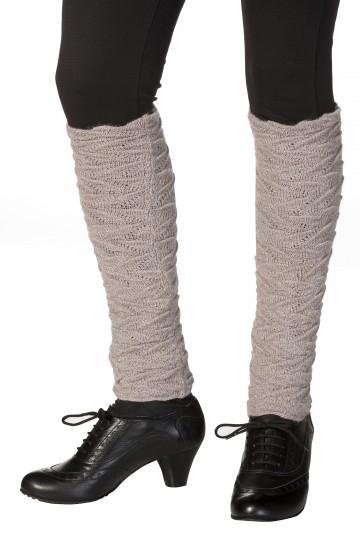 Damen Beinstulpen BIESEN Baby Alpaka Gelenkwärmer