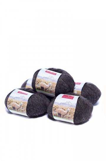 Alpaka Wolle SOFT | 50g | 5er Pack | 100% Alpaka Superfine