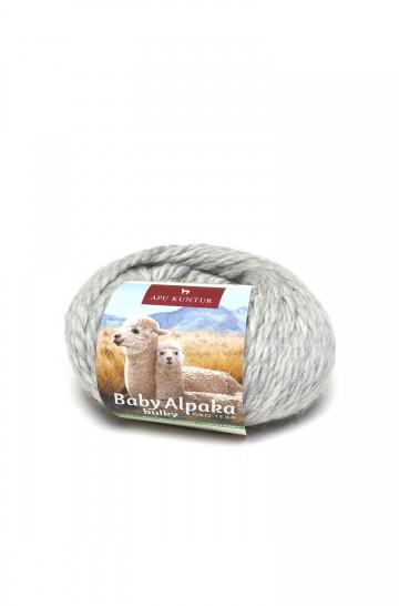 Alpaka Wolle BULKY   50g   100% Baby Alpaka