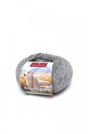 Baby-Alpaka Woll-Knäuel BULKY 50g 50m Nadel 8 Strick-Häkel-Garn Nm 2/2 APU KUNTUR