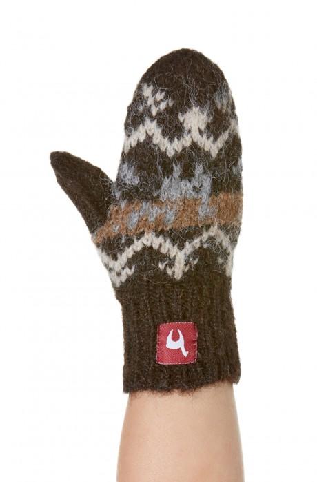 Alpaka Fausthandschuhe NATURA (Kinder 1-3 Jahre) aus 100% Alpaka Superfine