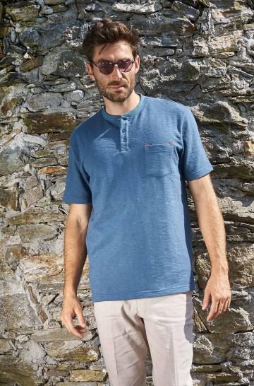 T-Shirt JAHLEEL aus Royal Alpaka und Bio Baumwolle für Herren