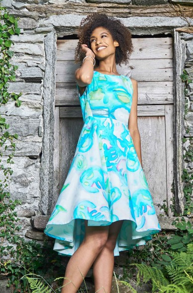 Kleid FALU aus Bio Baumwolle für Damen