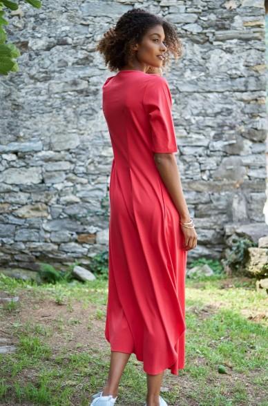 Kleid HEZRON aus 100% Pima Bio Baumwolle