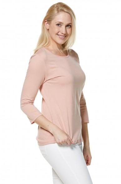 T-Shirt DREI-VIERTEL-ARM 3/4 aus Bio Pima-Baumwolle für Damen