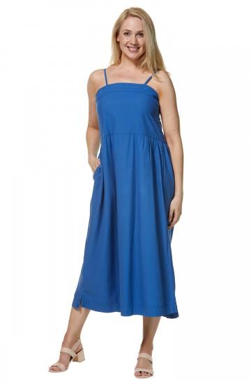Maxi-Kleid HOLLY aus Bio-Pima-Baumwolle für Damen
