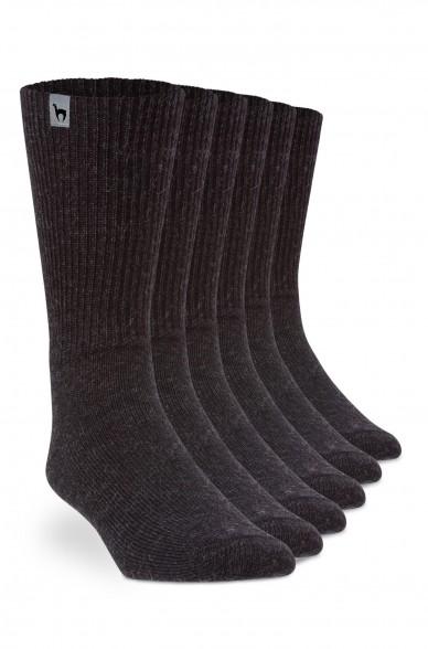 Alpaka Socken 6er Pack SOFT aus 52% Alpaka & 18% Wolle