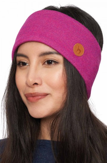 Alpaka Stirnband SPORT Stirnband aus 50% Baby Alpaka und 45% Wolle