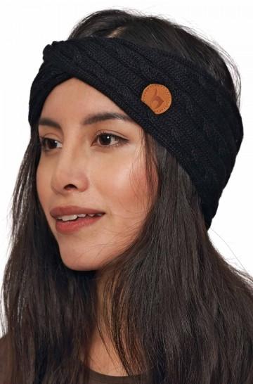 Alpaka Stirnband SUAVE aus 100% Baby Alpaka