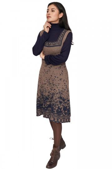 Kleid MAHALA aus Baby Alpaka Seide