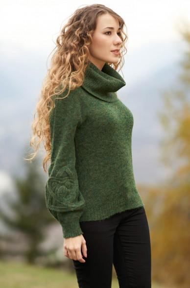 Alpaka Rollkragen Pullover SALOMON aus 55% Baby-Alpaka