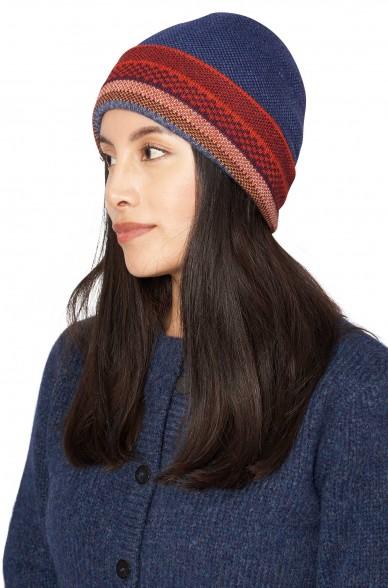 Alpaka Mütze KYARA aus 100% Baby Alpaka