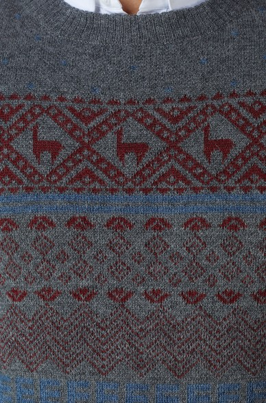 Alpaka Pullover NEVADA aus 100% Baby Alpaka