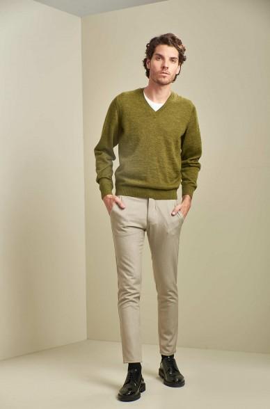 Basic Pullover ALAN aus Baby Alpaka