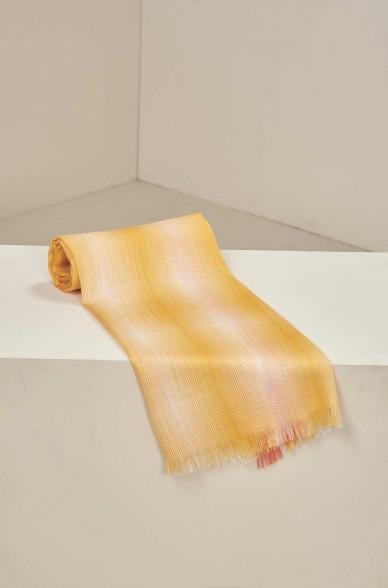 Schal UMALI aus Baby Alpaka und Seide