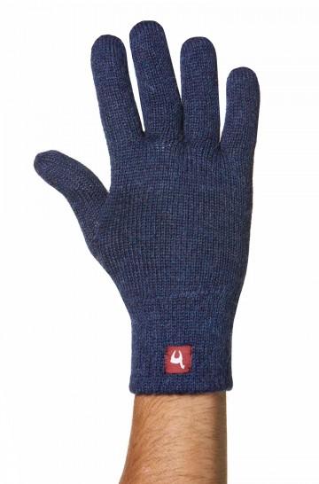 Fingerhandschuhe UNI GEFÜTTERT aus Alpaka gefüttert Handschuhe für Damen und Herren