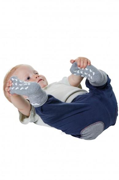 Alpaka Socken Kinder ABS (Gr. 30-35) aus 50% Baby Alpaka