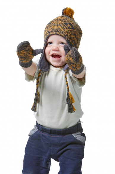 Alpaka Mütze ANDEN ROCA (für Kinder) aus 100% Alpaka Superfine