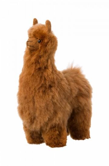 Alpaka Kuscheltier - 30cm aus 100% Alpaka Fell