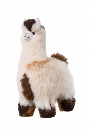 Fell-Alpaka 30cm Naturfell Kuscheltier von APU KUNTUR