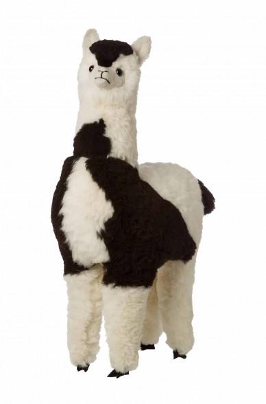 Alpaka Kuscheltier - 100cm aus 100% Alpaka Fell