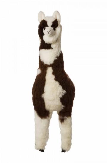 Alpaka Kuscheltier - 130cm aus 100% Alpaka Fell