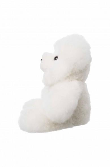 Alpaka Kuscheltier TEDDY 30cm aus 100% Alpaka Fell