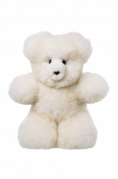 Alpaka Kuscheltier TEDDY 50cm aus 100% Alpaka Fell