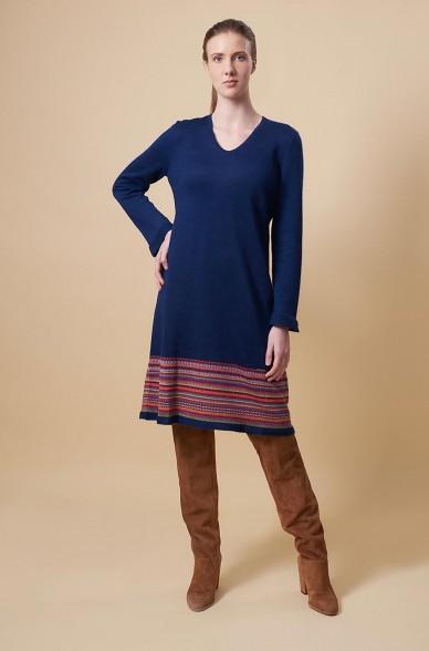 Kleid TAUPA aus Baby Alpaka