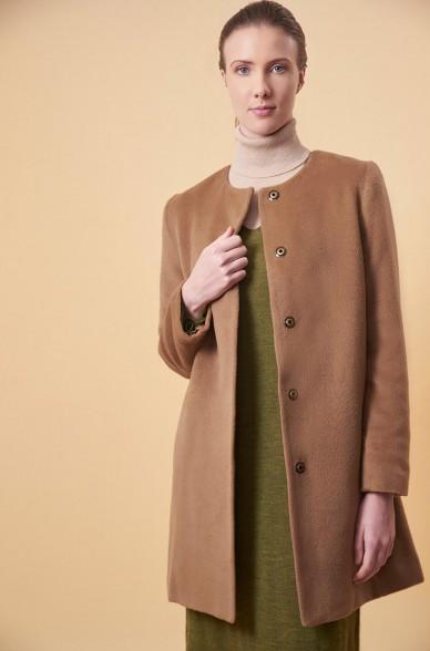 Mantel UAZU aus Alpaka, Seide und Wolle