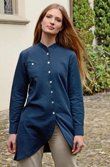 Blusenkleid ASI aus 100% Bio Pima Baumwolle
