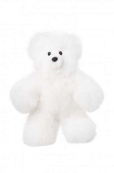 Alpaka Kuscheltier TEDDY 22cm aus 100% Alpaka Fell