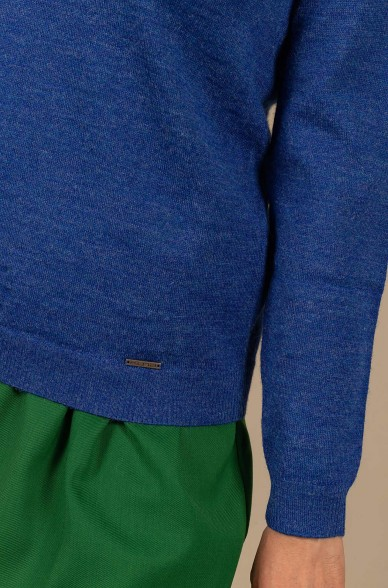 Basic Pullover ALICIA aus Baby Alpaka
