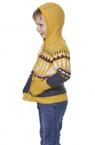 Kapuzen Strickjacke ELI für Kinder 4-6 Jahre