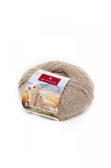 Baby-Alpaka Woll-Knäuel REGULAR 50g 100m Nadel 4-4,5 Strick-Häkel-Garn Nm 4/8 APU KUNTUR