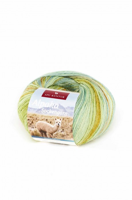 Alpaka Wolle SOCKENGARN   50g   50% Wolle (Superwash)