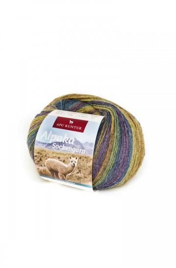 Alpaka Wolle SOCKENGARN | 50g | 50% Wolle (Superwash)