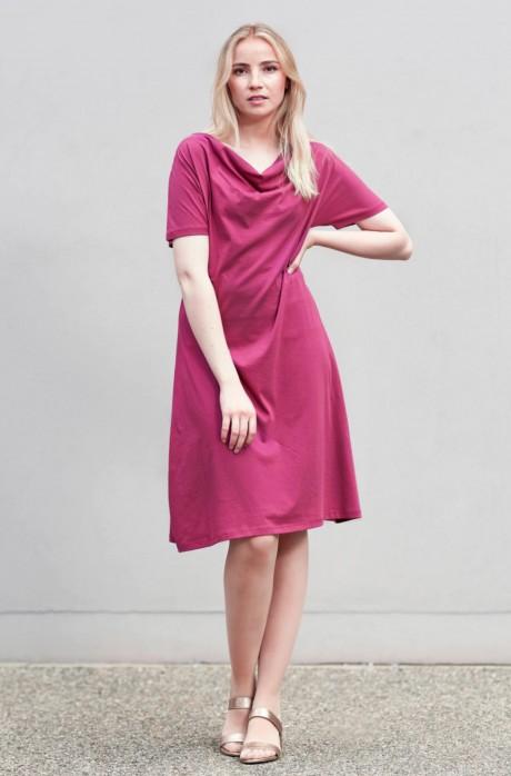Jersey-Kleid LARA aus 100% Pima Bio Baumwolle