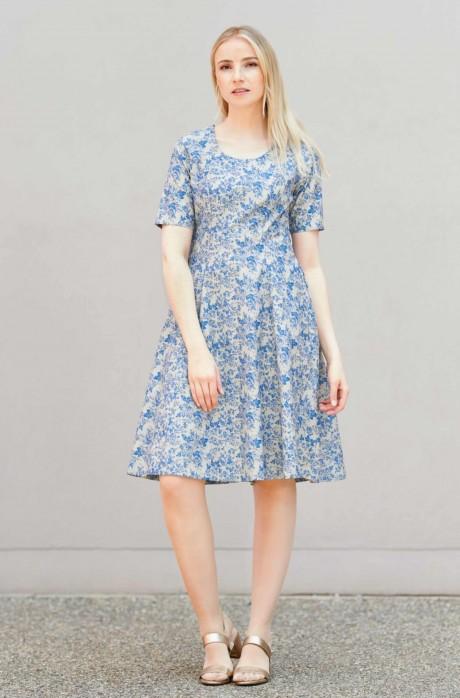 Kleid SARA aus 100% Pima Bio Baumwolle