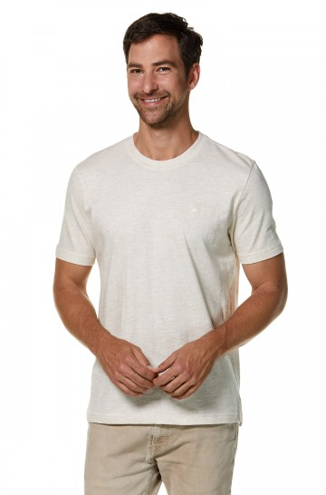 T-Shirt Rundhals aus 90% Bio-Baumwolle & 10% Royal Alpaka