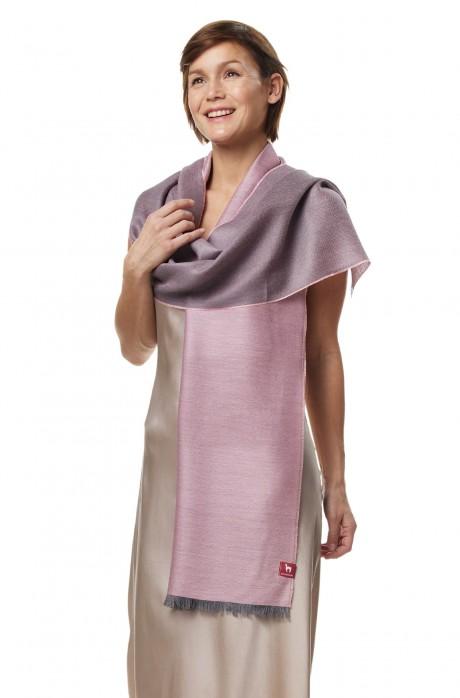 Alpaka Seiden Schal aus 70% Baby Alpaka & 30% Seide
