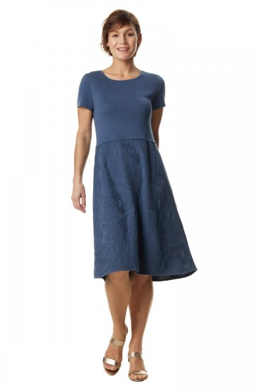 Kleid TAMAR aus 100% Pima Bio Baumwolle