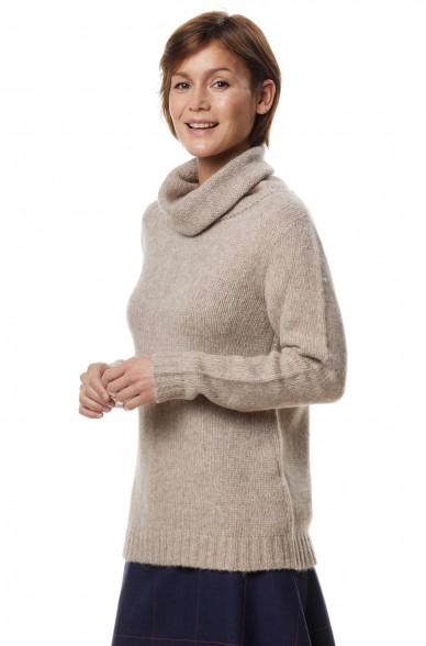 Alpaka Rollkragen Pullover ASA aus 70% Baby Alpaka und 23% Merino