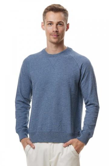 Alpaka Pullover JANIS aus 90% Pima Bio Baumwolle und 10% Royal Alpaka